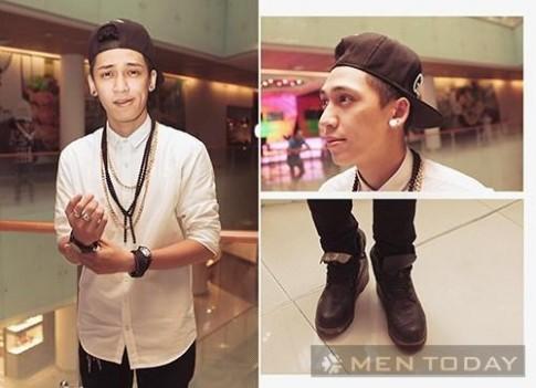 Chàng trai trẻ Sài Gòn cá tính với street style
