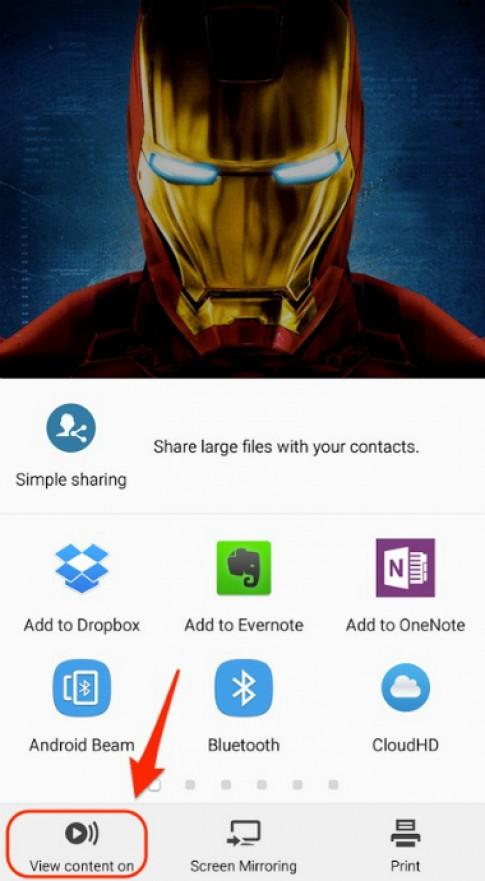 Chia sẻ và giải trí nhanh gọn nhờ Galaxy Note 5