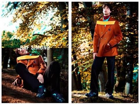 Chiến dịch quảng cáo bst thời trang thu đông 2013-14 của Raf Simons