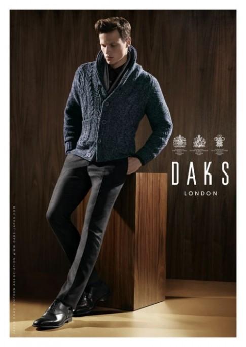 Chiến dịch thời trang nam thu đông 2013 của DAKS