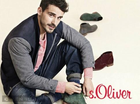 Chiến dịch thời trang nam thu đông 2013 của S.Oliver