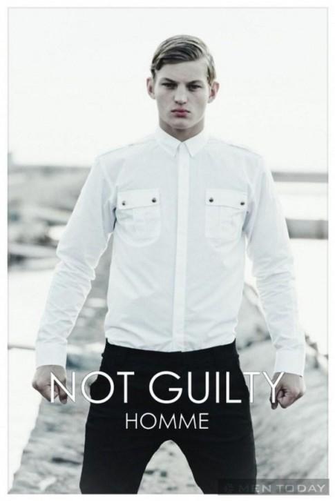 Chiến dịch thời trang nam xuân hè 2014 từ Not Guilty Homme