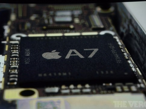 Chip Apple A7 không phải là CPU lõi tứ