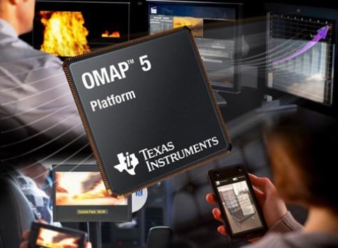 Chip OMAP 5 lõi kép nhanh gấp đôi Tegra 3 lõi tứ