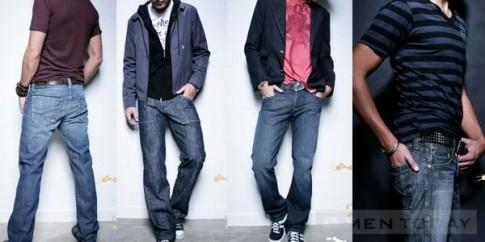 Chọn quần jeans thật chuẩn cho nam giới