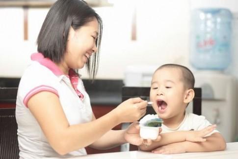Chọn và cho bé ăn sữa chua đúng cách