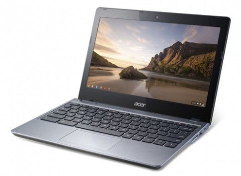 Chromebook chạy chip Haswell pin 8,5 tiếng của Acer