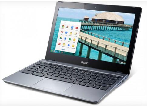 Chromebook đầu tiên chạy chip Intel Core i3