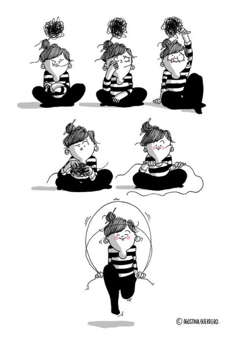 Chùm tranh: Chính xác thì cuộc sống phức tạp của con gái diễn ra như thế này!