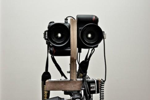 Chụp ảnh 3D với hai chiếc Nikon D90