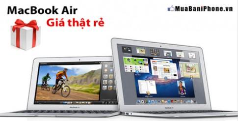 Cơ hội mua Macbook Air giá cực rẻ