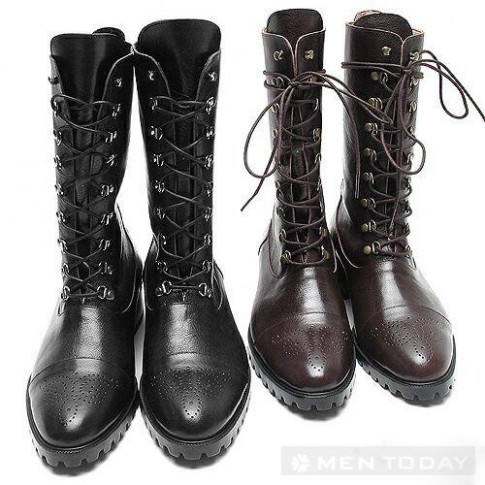 Combat boots cực ngầu cho teen boy