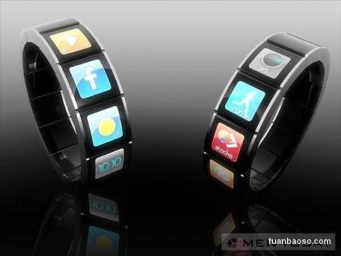 Concept đồng hồ theo dõi tương lai