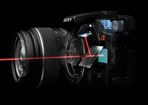 Công nghệ DSLR màn gương trong của Sony