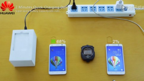 Công nghệ sạc pin điện thoại siêu tốc trong 5 phút