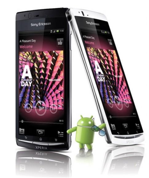 Công nghệ Sony và nền tảng Android trên Sony Ericsson