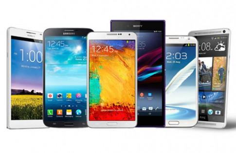 Cuộc 'đổ bộ' của smartphone màn hình lớn nửa cuối 2013