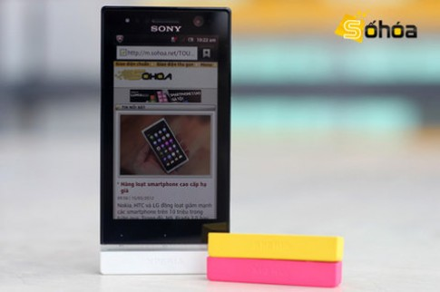Đánh giá Sony Xperia U