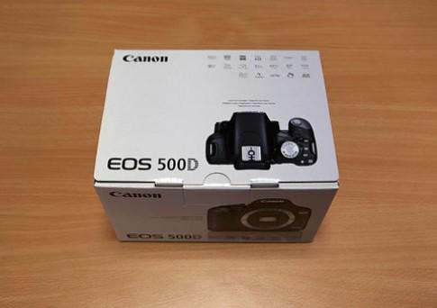 'Đập hộp' Canon EOS 500D