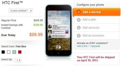 'Đập hộp' điện thoại Facebook HTC First