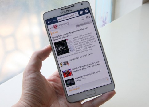 'Đập hộp' Galaxy Note 3 phiên bản 4G