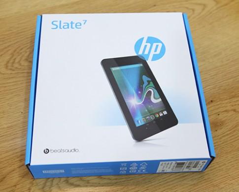 'Đập hộp' HP Slate 7 tại Việt Nam