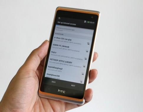 Đập hộp HTC Desire 606w 2 sim - bản rút gọn của One