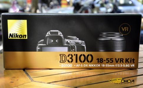 'Đập hộp' Nikon D3100 tại Việt Nam