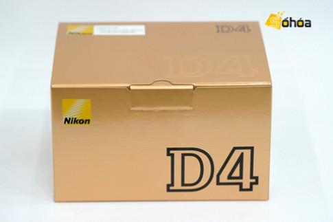 'Đập hộp' Nikon D4 giá 128,1 triệu tại VN