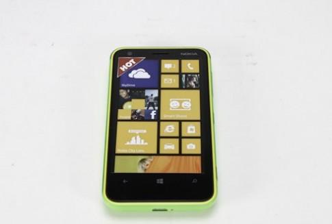 Đập hộp Nokia Lumia 620 chính hãng