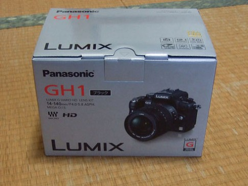 'Đập hộp' Panasonic GH1