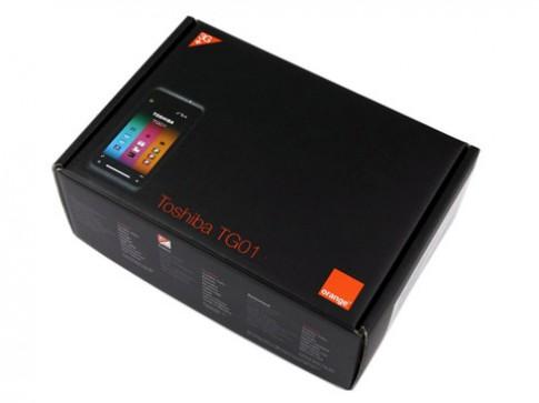 'Đập hộp' siêu phẩm Toshiba TG01