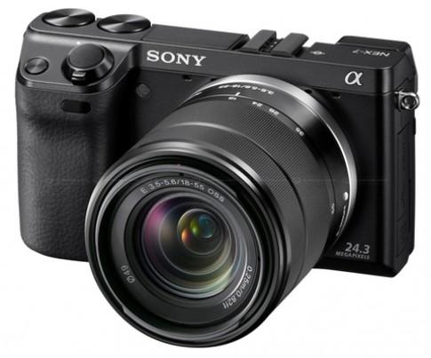 Đập hộp Sony NEX-7