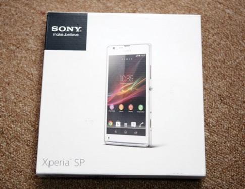 Đập hộp Sony Xperia SP tại Việt Nam