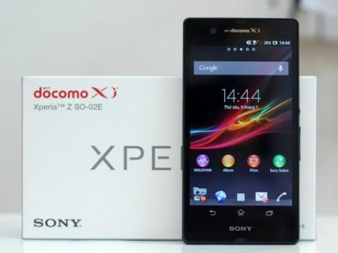 'Đập hộp' Sony Xperia Z đầu tiên về VN