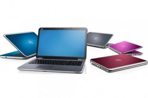 Dell nâng cấp cấu hình cho bốn mẫu laptop Inspiron
