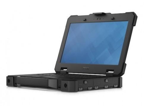 Dell ra mắt máy tính siêu bền với màn hình cảm ứng lật 180 độ