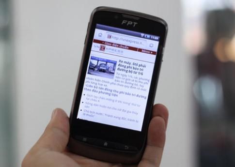 Di động Android hai sim thương hiệu Việt giá gần 3 triệu