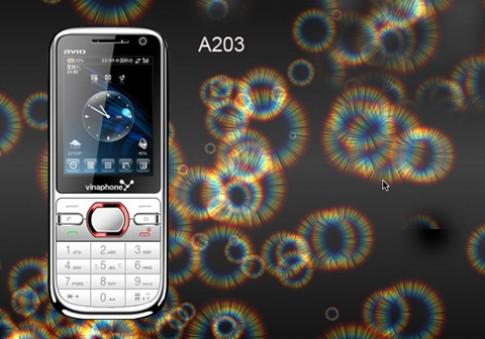 Điện thoại A203 thời trang đa phong cách