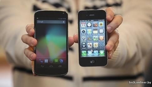 Điện thoại Android Nexus của LG thêm nhiều ảnh mới