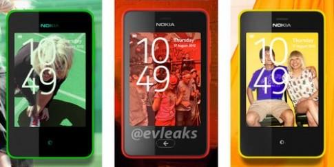 Điện thoại cảm ứng giá rẻ Nokia Asha được thiết kế như Lumia