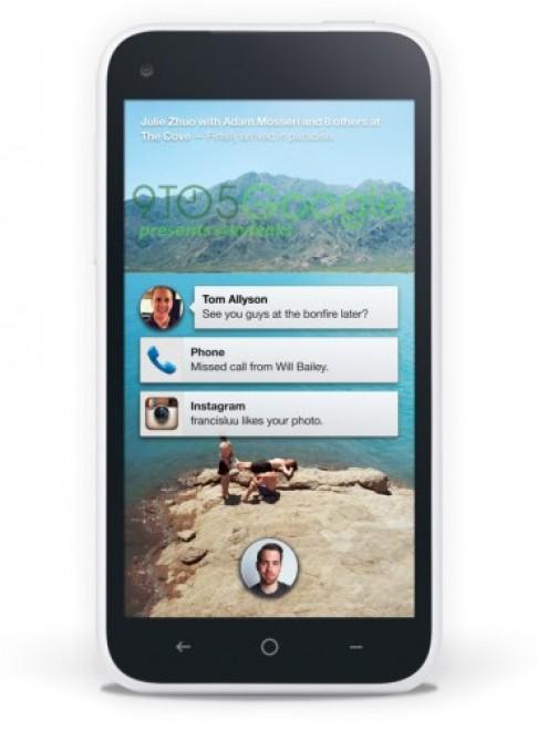 Điện thoại Facebook xuất hiện với giao diện Android lạ