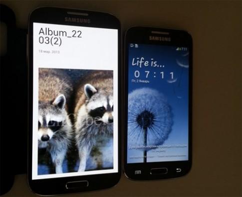 Điện thoại Galaxy S4 Mini lộ ảnh