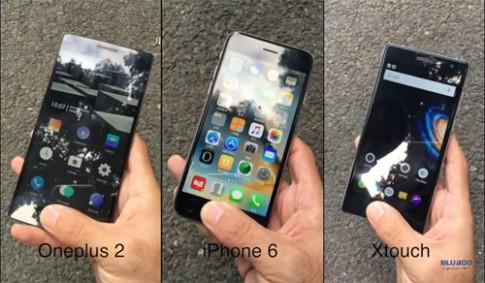 Điện thoại giá 150 USD có cảm biến vân tay nhạy ngang iPhone 6