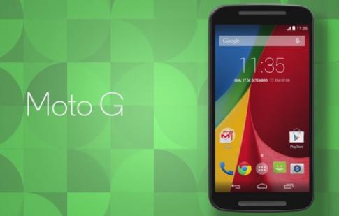 Điện thoại giá tốt Moto G thế hệ mới lộ diện trước giờ ra mắt