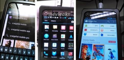 Điện thoại 'khủng' Motorola X lộ diện