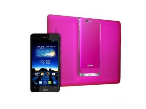 Điện thoại lai tablet Asus Padfone thêm phiên bản nữ tính