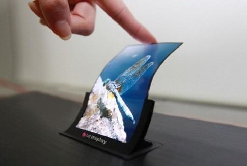 Điện thoại màn hình dẻo đầu tiên sẽ có mặt cuối năm nay