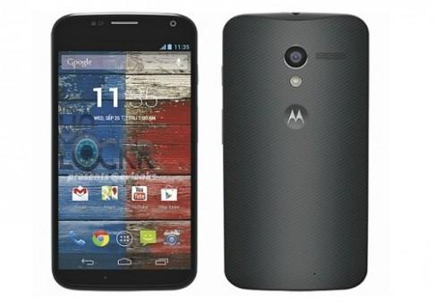 Điện thoại Moto X lộ ảnh chính thức