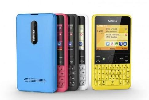 Điện thoại Nokia Asha 210 giá rẻ, tích hợp Wi-Fi